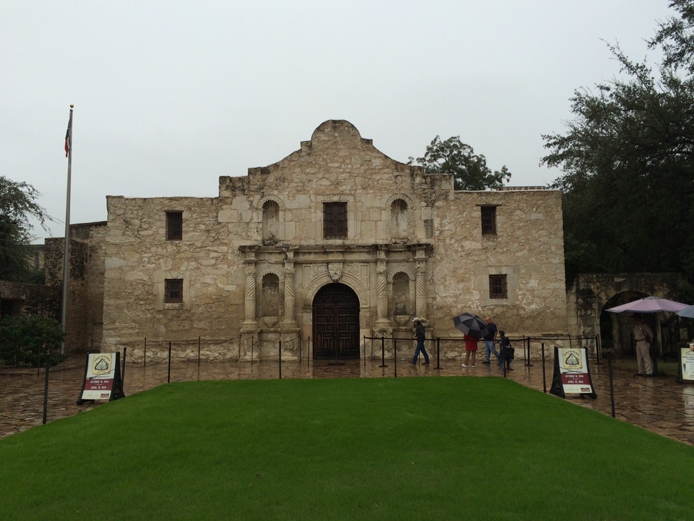The Alamo, in San Antonio, TX