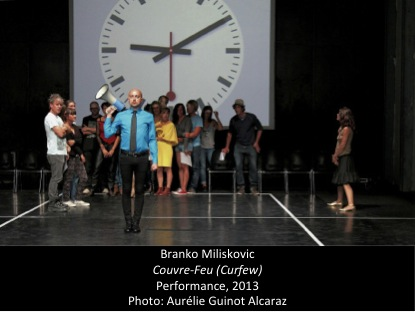 Participatory Performance by serbian artist branko miliskovic - a potential object of study for your phd!
