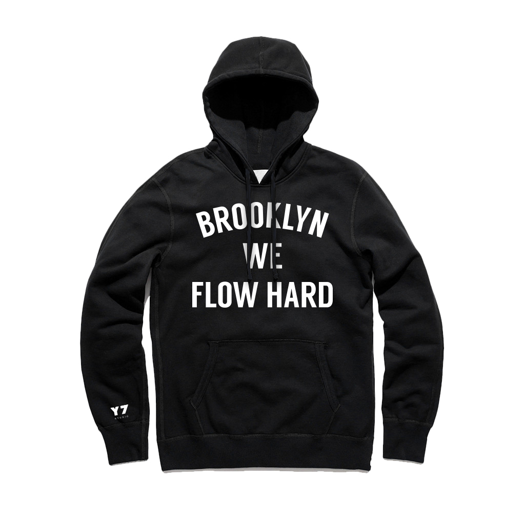 234eafa8e7b Y7 Brooklyn We Flow Hard Hooded Pullover — Y7 STUDIO
