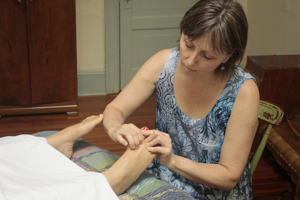Reflexology by Certified Reflexology Practitoner Anna I. Reality