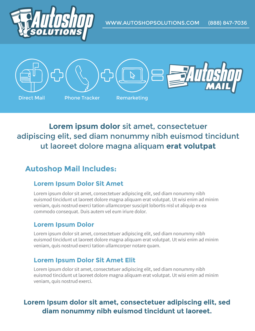 Autoshop Solutions Inc: Autoshop Mail PDF - Page 1