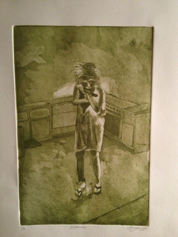 "etching    6x9"""