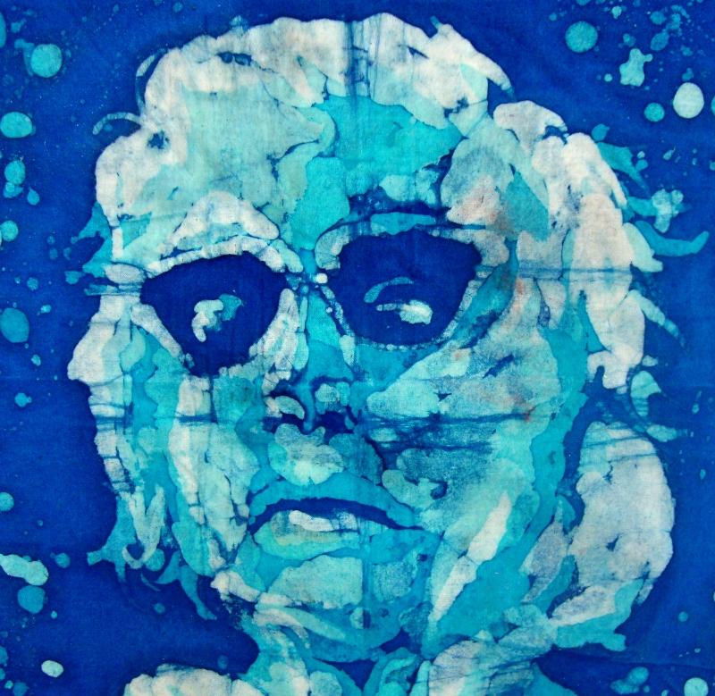 13x13, Grandma. Dye (batik)