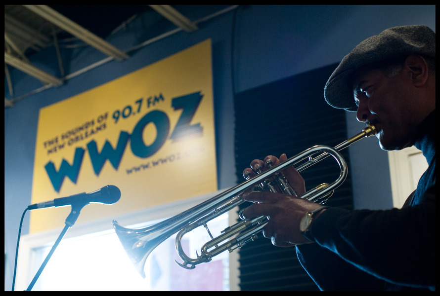 Wendell Brunious plays the Traditional Jazz Show