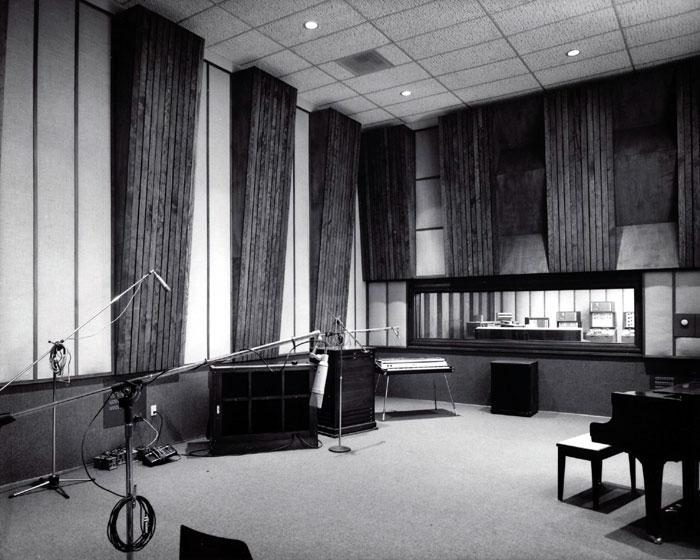 Studio A of Ardent Studios