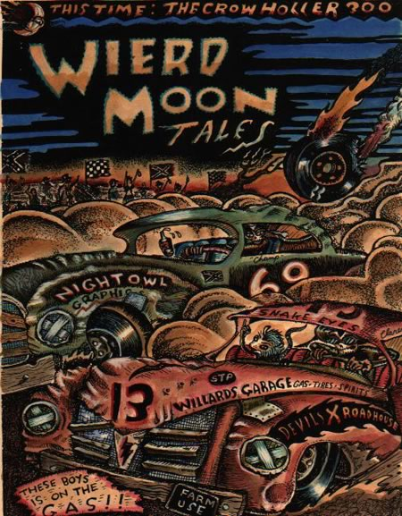 Weird Moon Tales, a magazine with covers, but no issues
