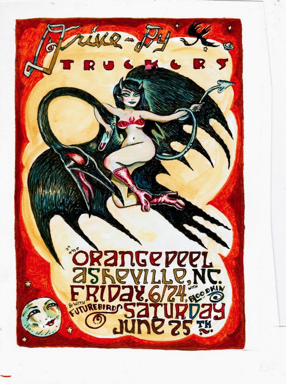 DBT Gig poster, 2011