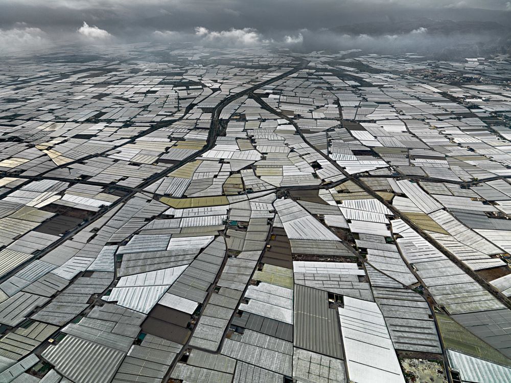 Greenhouses  ,  Almeria Peninsula, Spain, 2010