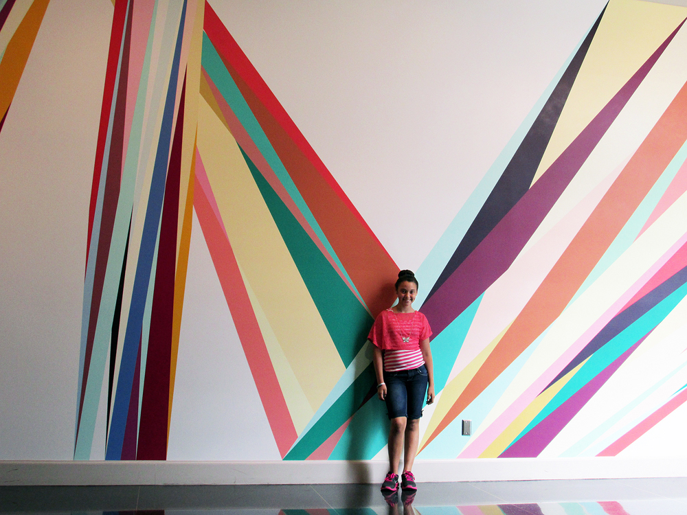 Madison at the New Orleans Museum of Art  by Marion Stewart