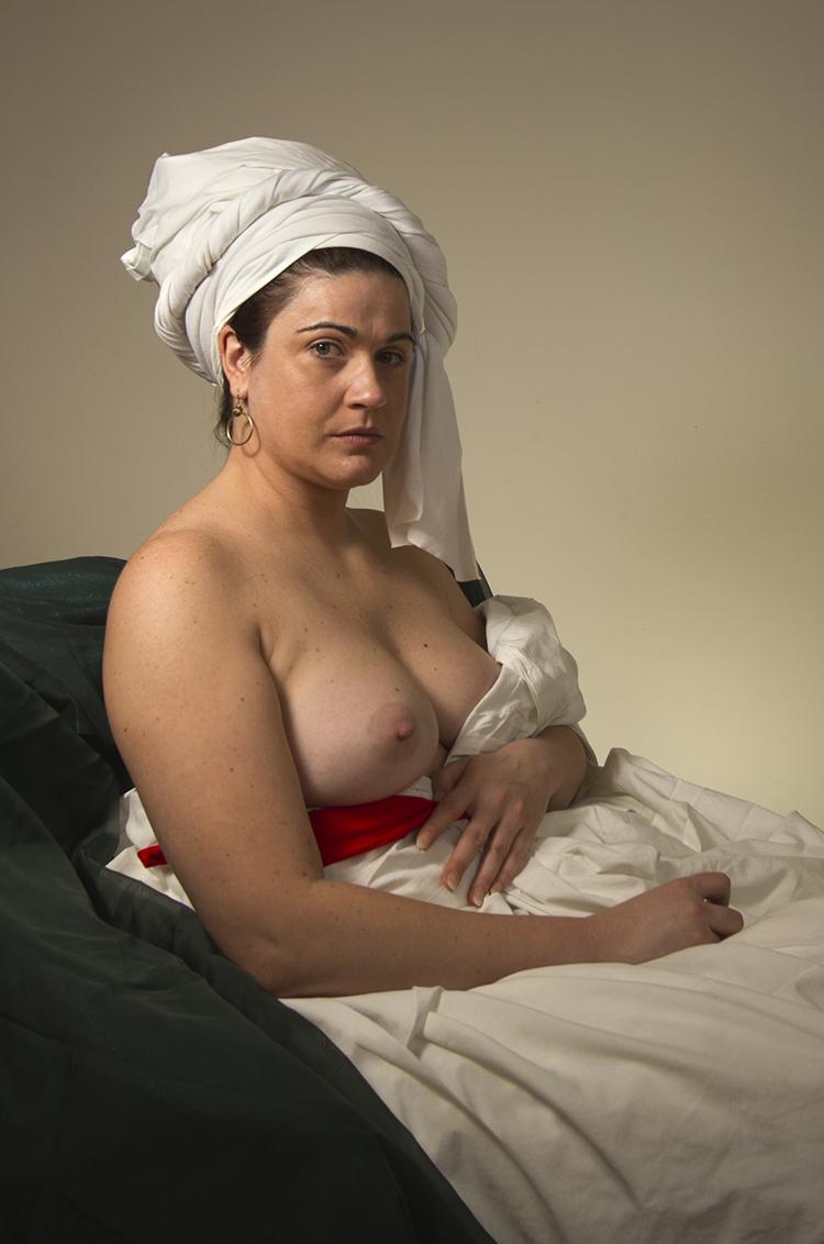 Portrait of a White Woman