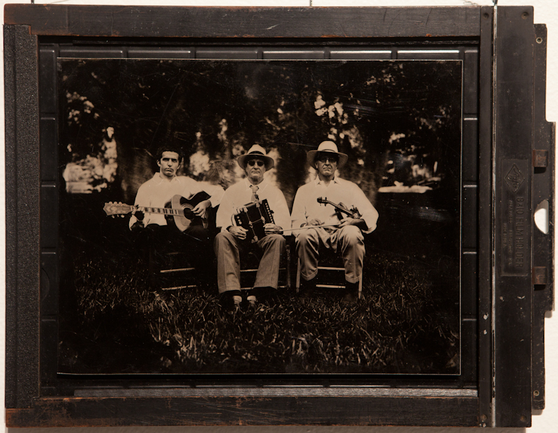 Michot Brothers - Tintype on Aluminum