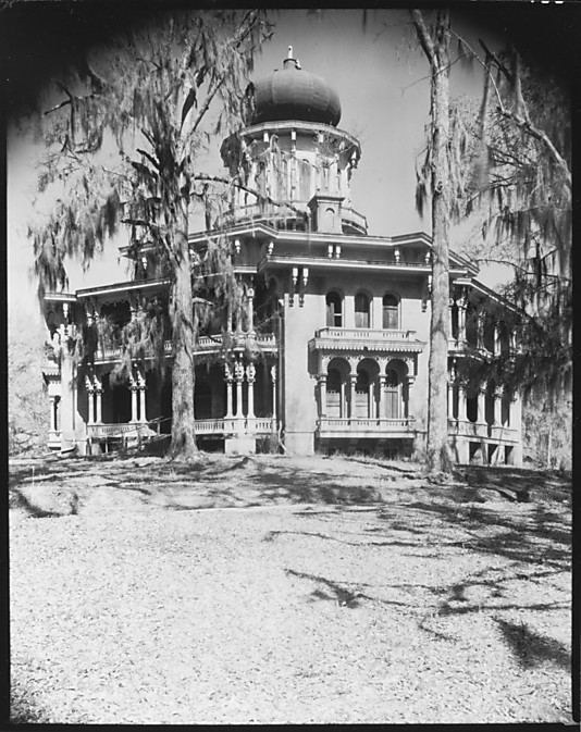 Longwood Plantation House, Natchez, Mississippi - Walker Evans