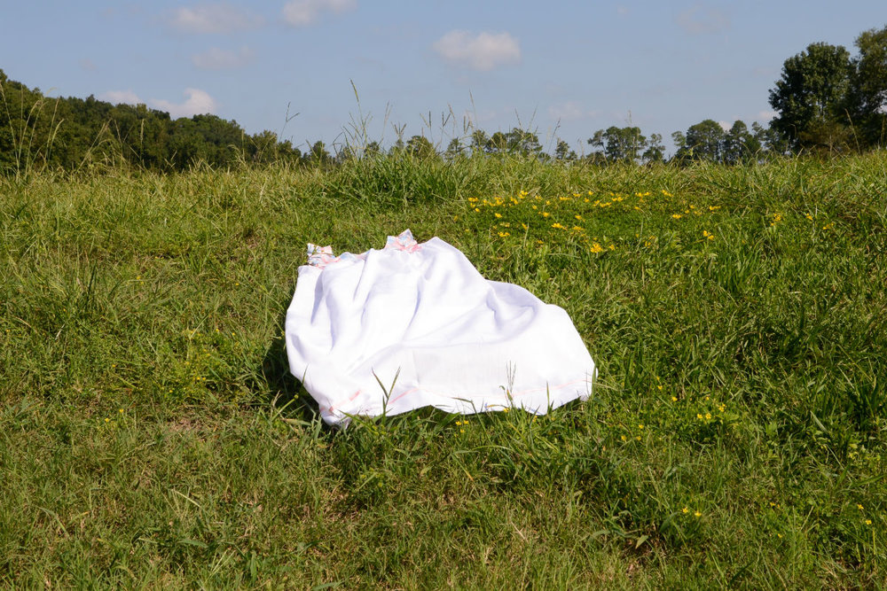 Untitled (House Dress in Field) , Archival Pigment Print, Multiple Sizes, 2017