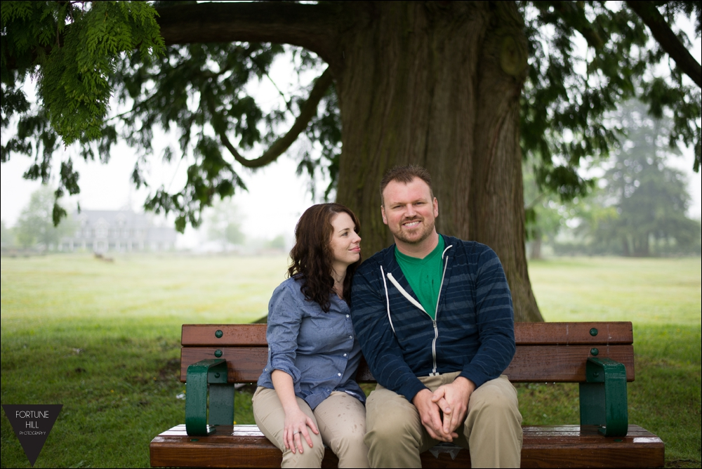 Rowlatt Farmstead engagement photos