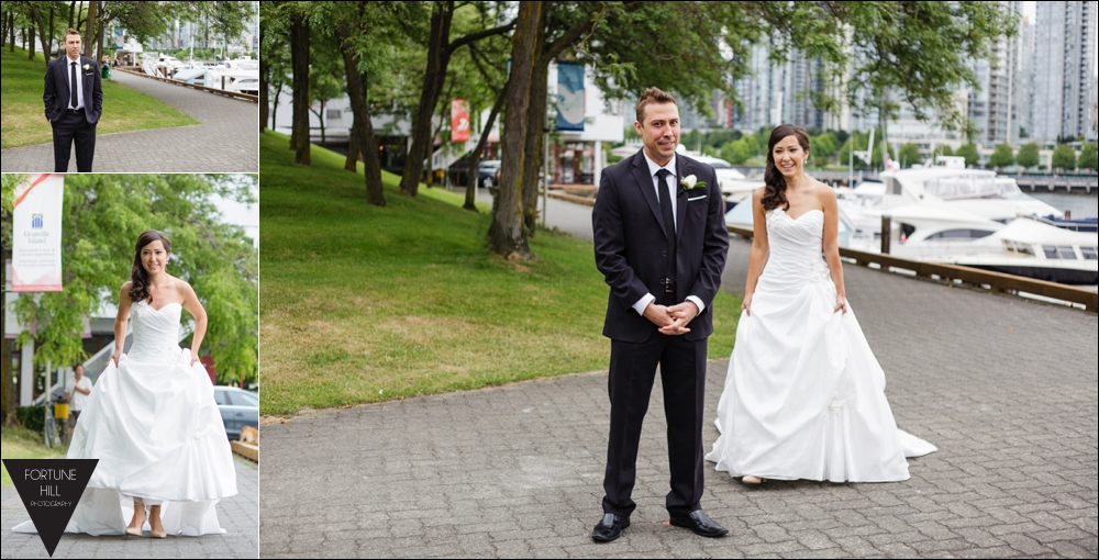Granville Island Wedding pictures