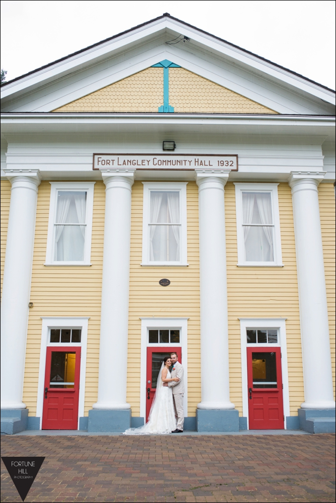 Fort Langley wedding photos