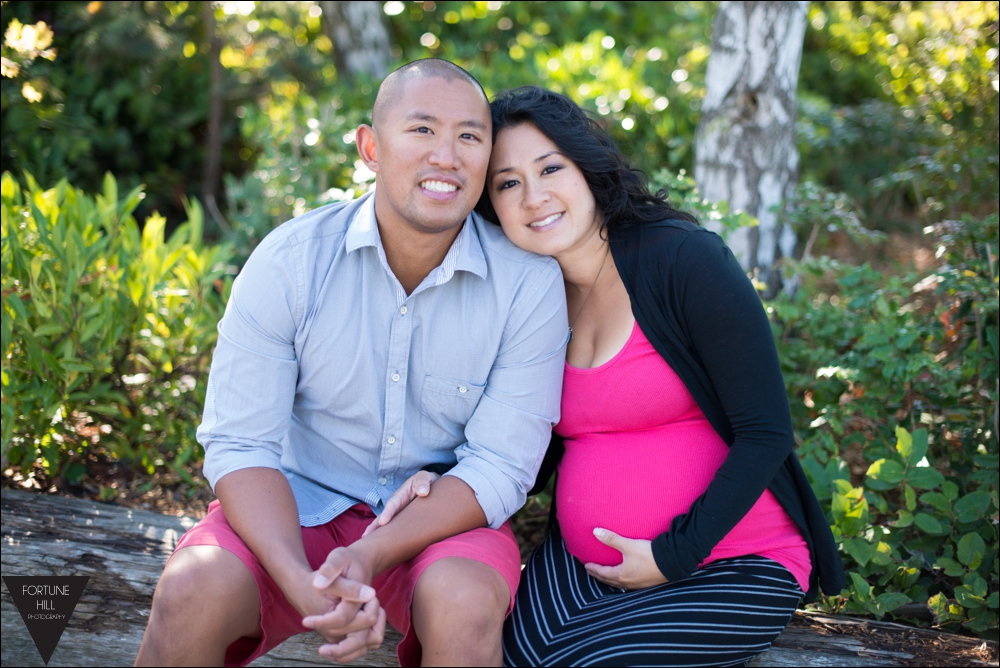 Richmond Garry Point Maternity photos