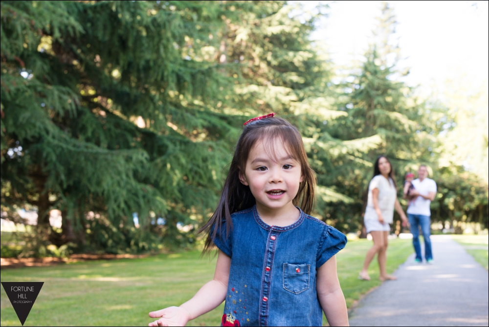 Richmond Minoru Park Family photos