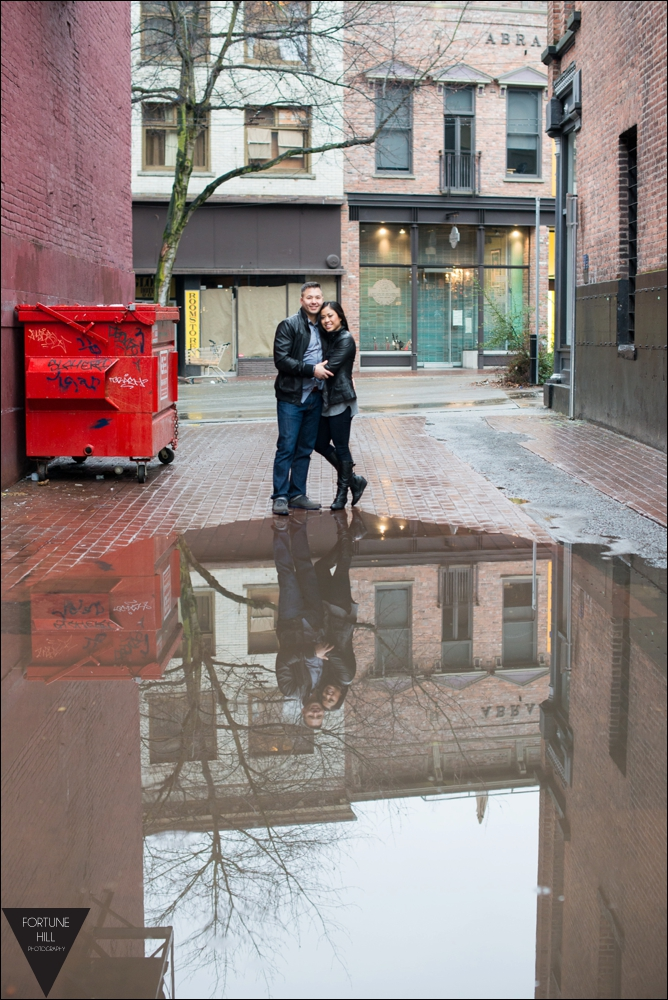 Vancouver Gastown Couples photos