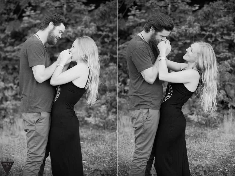 Cultus Lake Engagement pictures