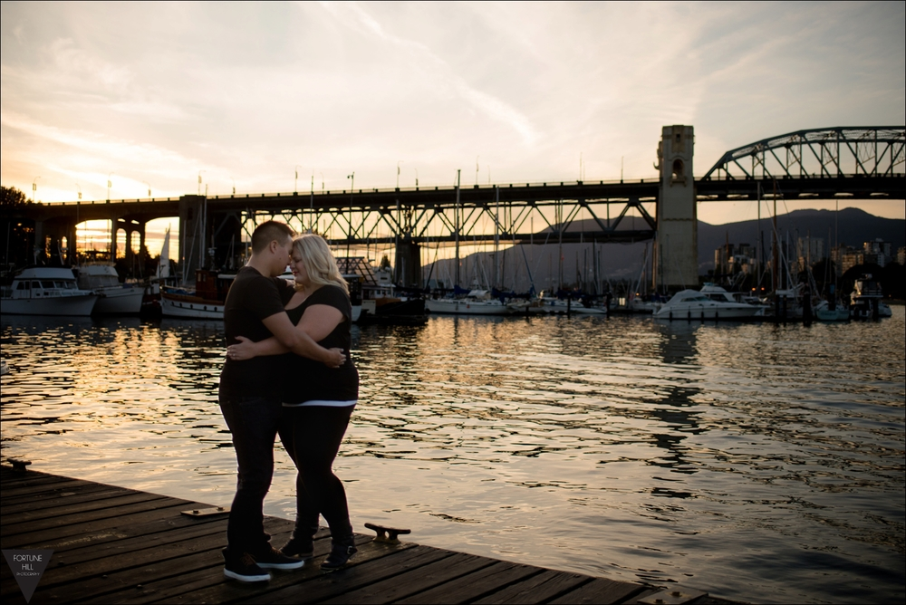 Granville Island Engagement pictures