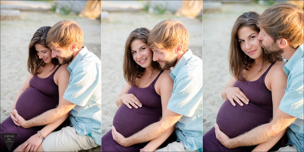 Spanish Banks maternity pictures