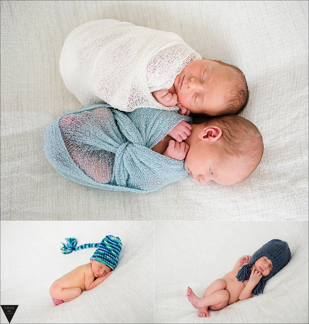 Port Coquitlam twin newborn pictures