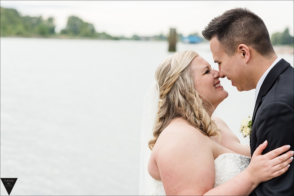 Vancouver Marine Golf Club wedding photos