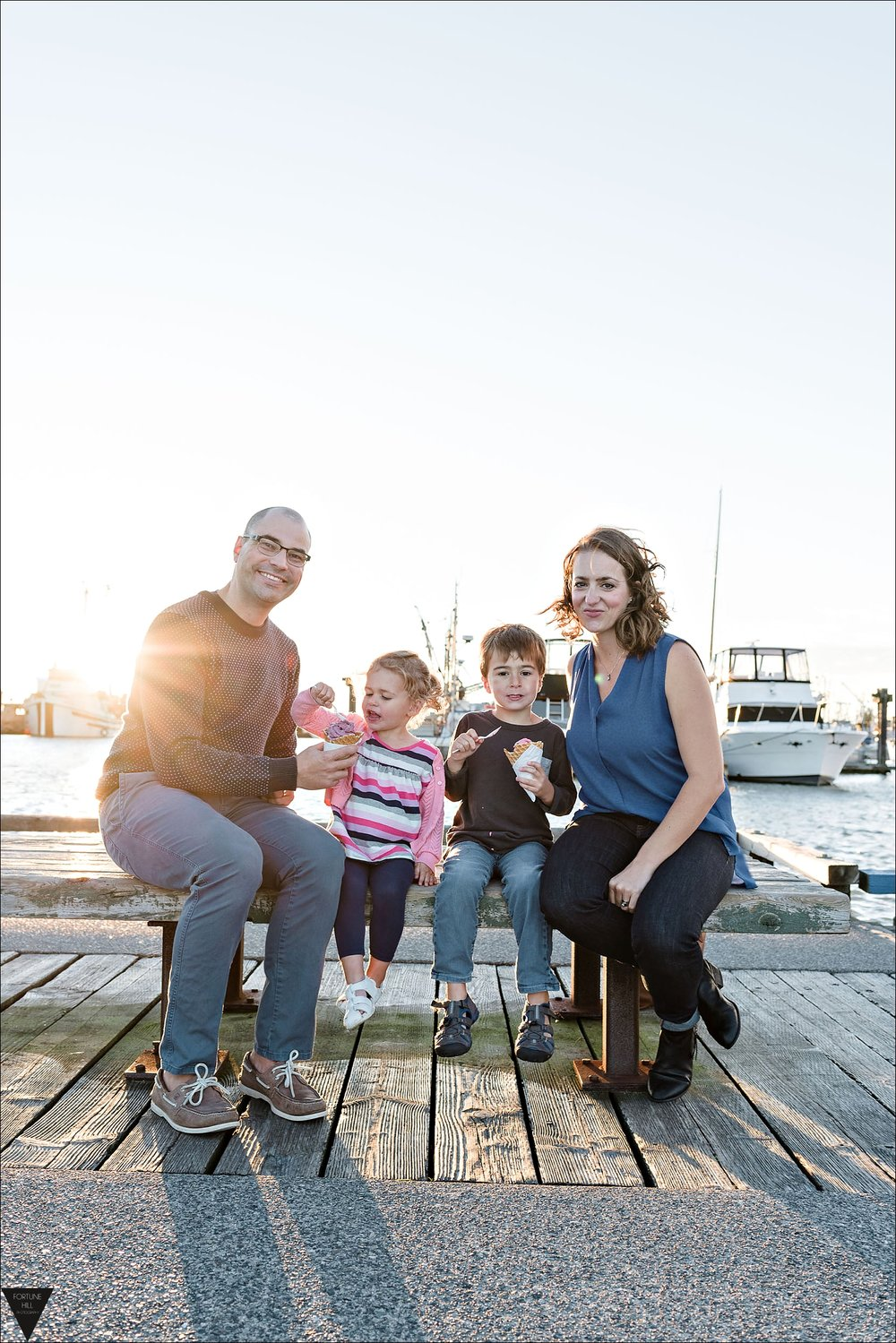 Richmond Steveston Family pictures