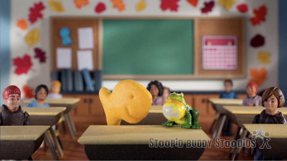Goldfish On A School Day