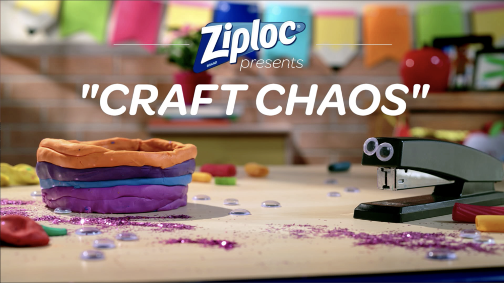 Ziploc Presents: 'Craft Chaos'