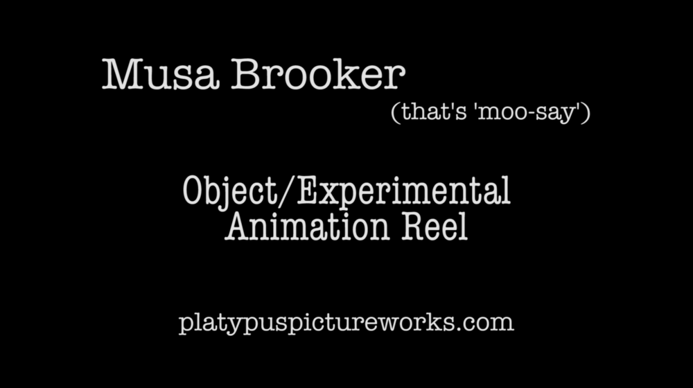 Object/Experimental Animation Reel 2018