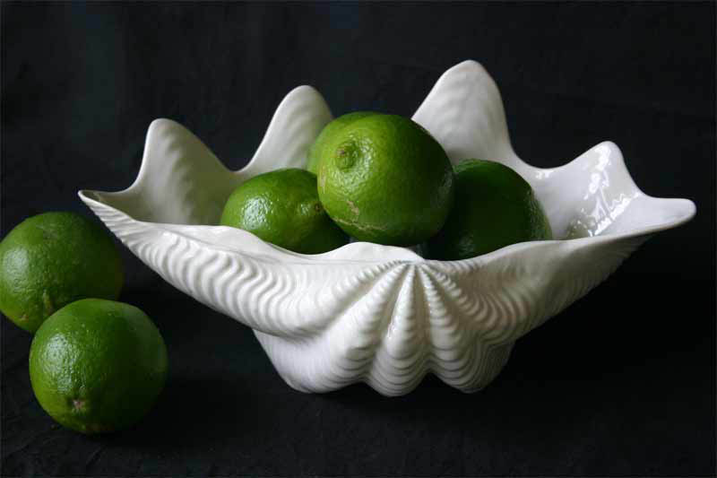 Clam Shell Serving Bowl