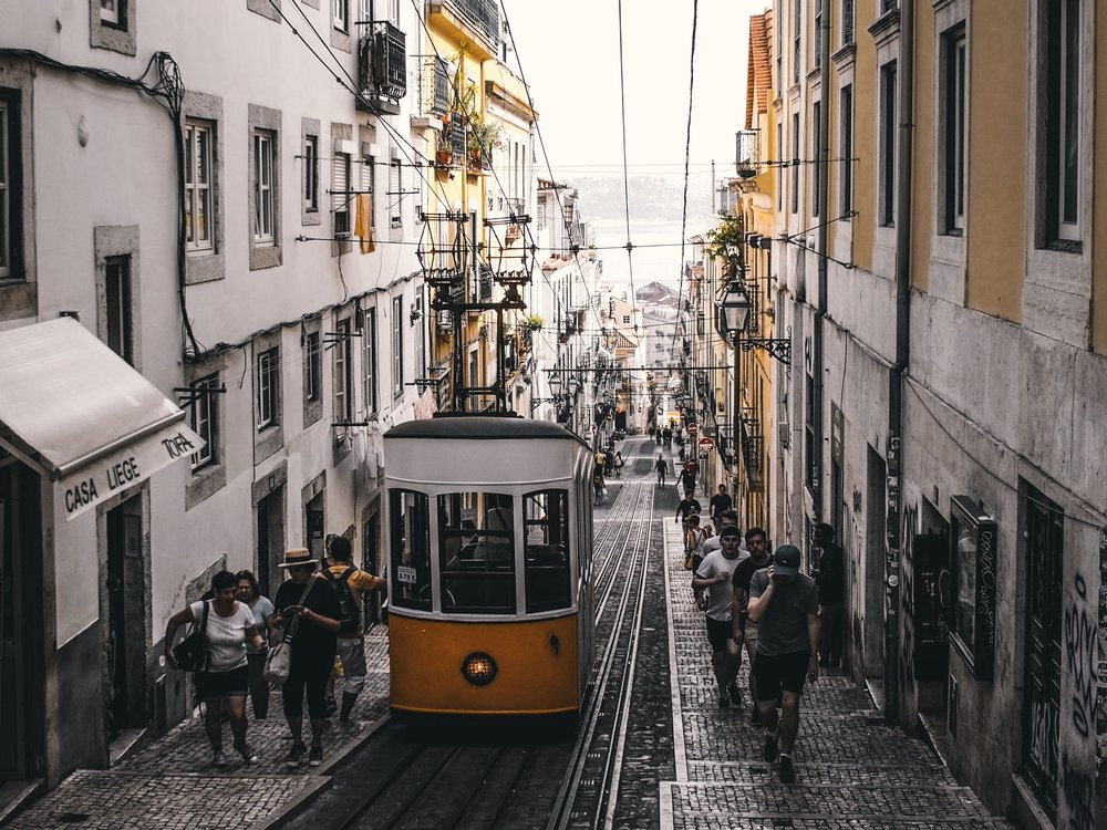 Rua Da Bica De Duarte — Quite possibly the most famous street in Lisbon. Also the wallpaper on my iPhone right now...