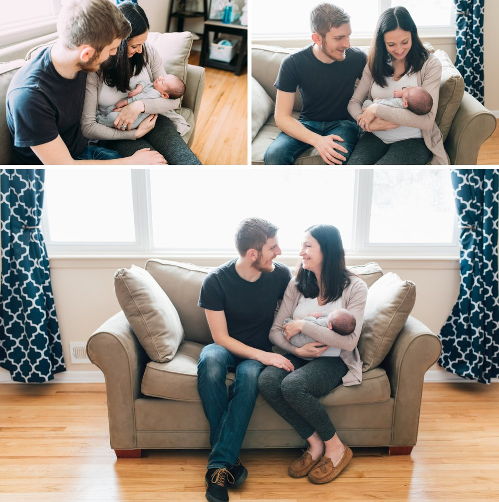 New Jersey In-Home Newborn Photo Session