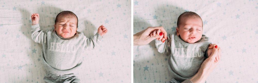 NJ In-Home Newborn Photo Session