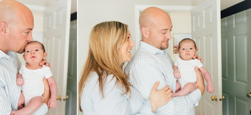 In Home Lifestyle Newborn Photography Session Monmouth County New Jersey