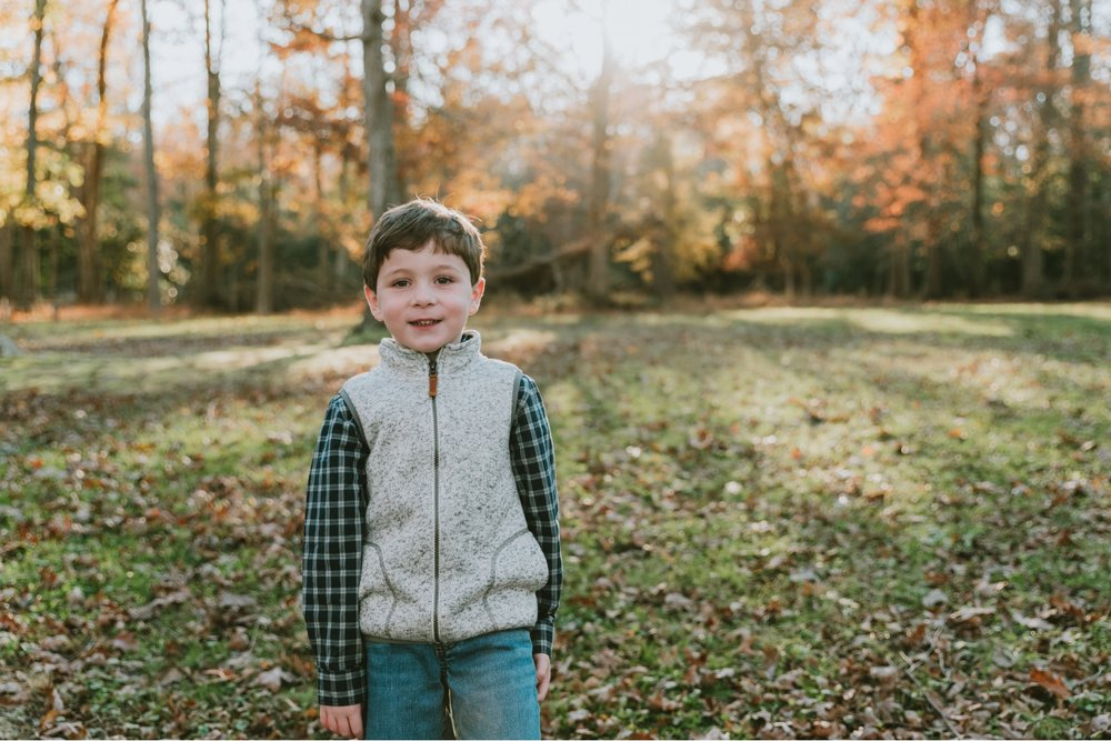 Family Children Christmas Portraits Allaire State Park Farmingdale New Jersey