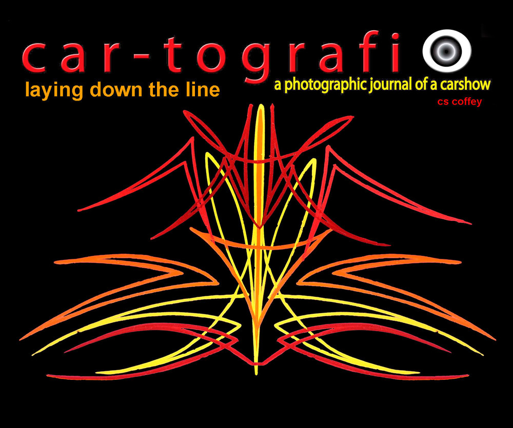 car-tografi Laying Down The Line Book-The Pinstriper