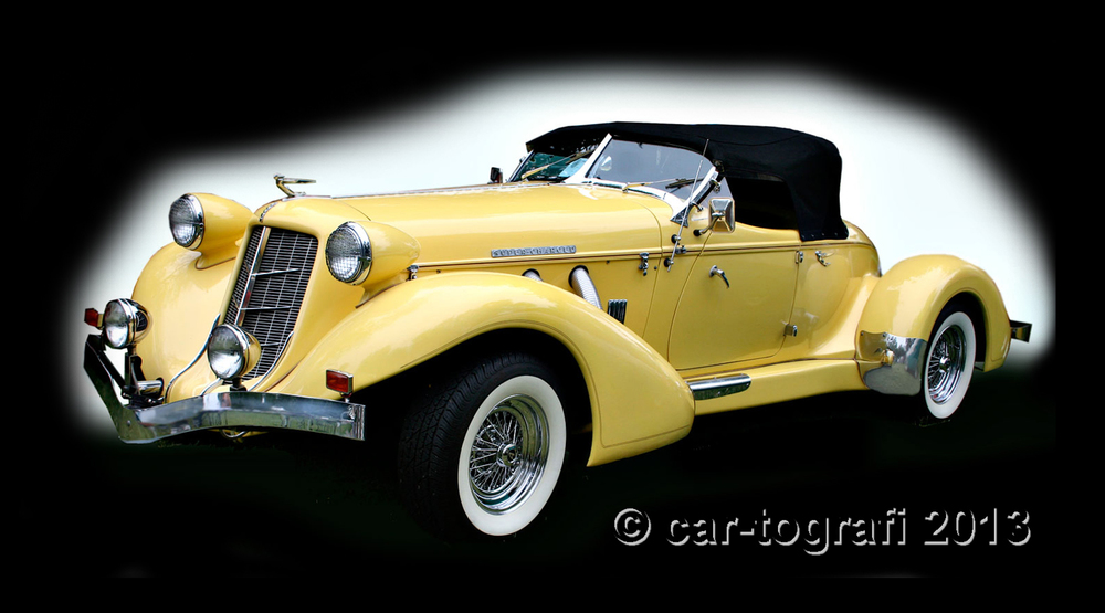 1930's Auburn Speedster Classic produced form 1929-1937