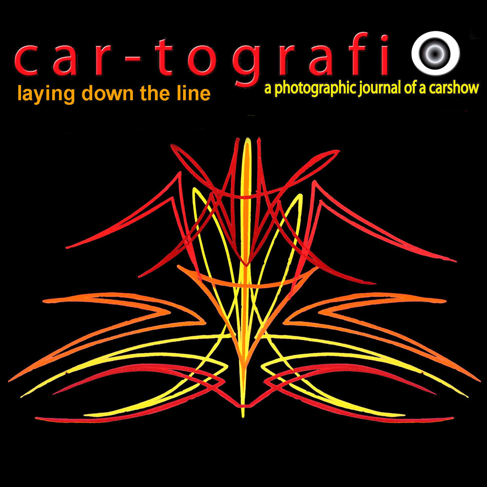 car-tografin Laying down the line cover 2014