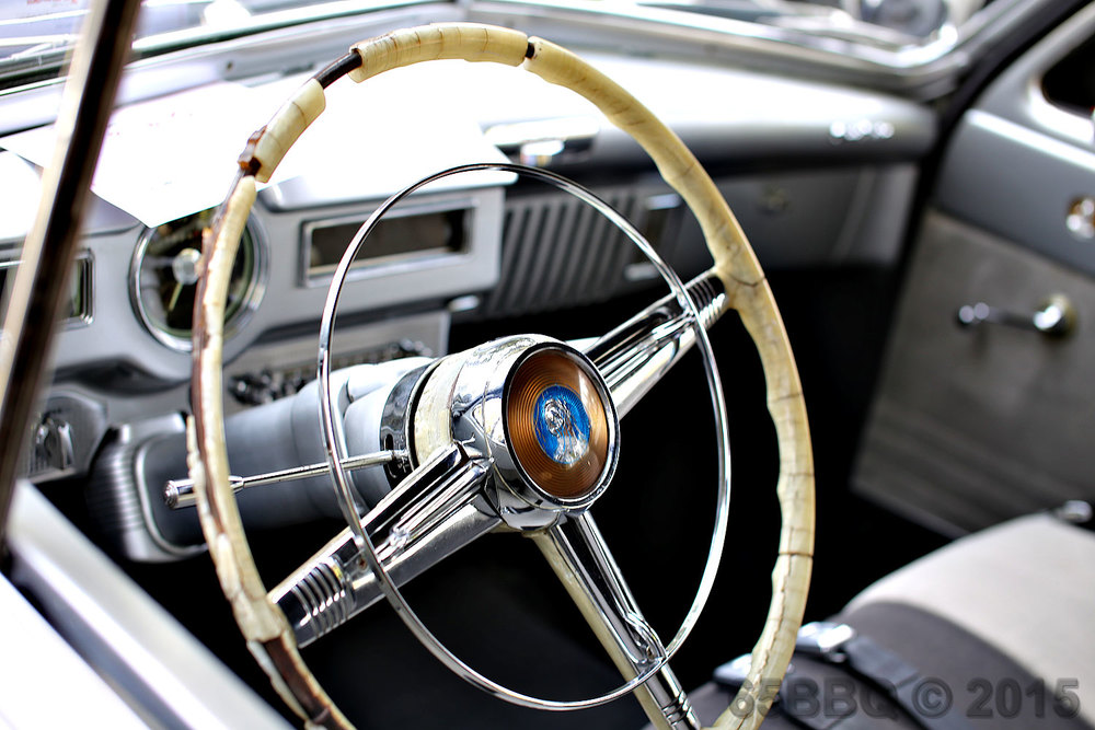 Steering Wheel. LAPD Savings Lives Car  Show 2015 65bbq.