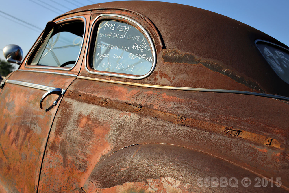 The rust at Pomona Swap Meet June 7, 2015