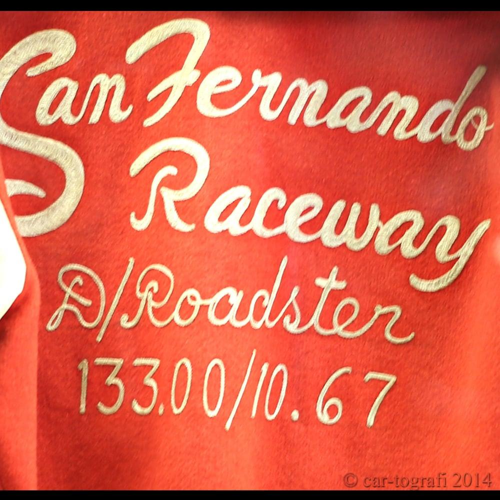 San Fernando Raceway Jacket car-tografi