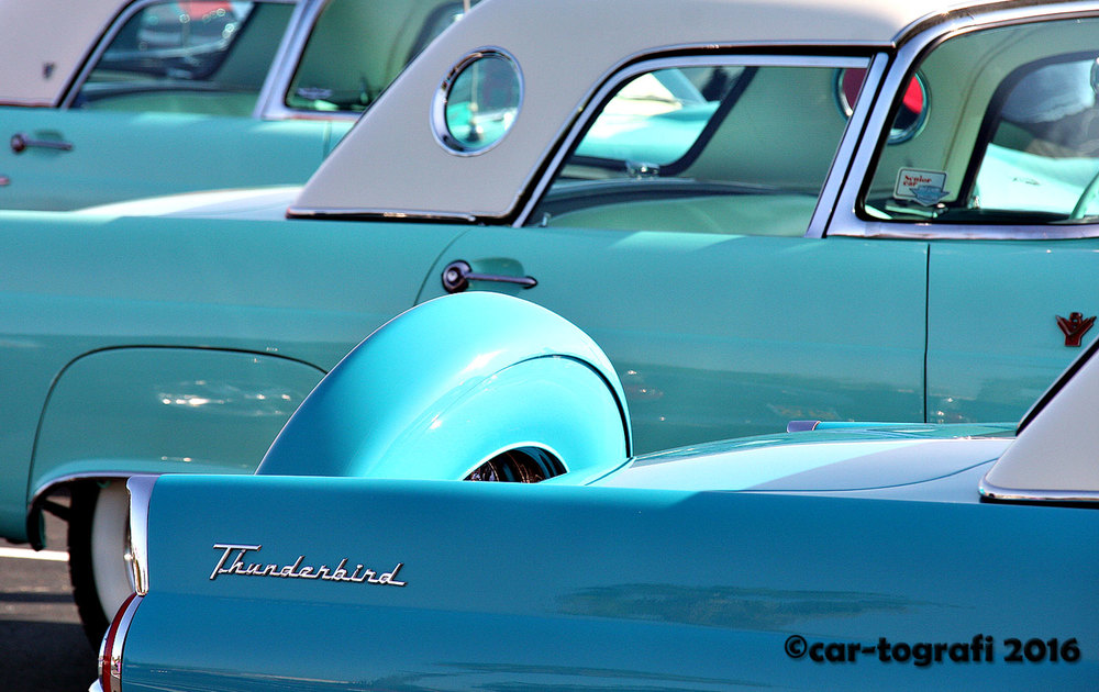 Thunderbird blues car-tografi