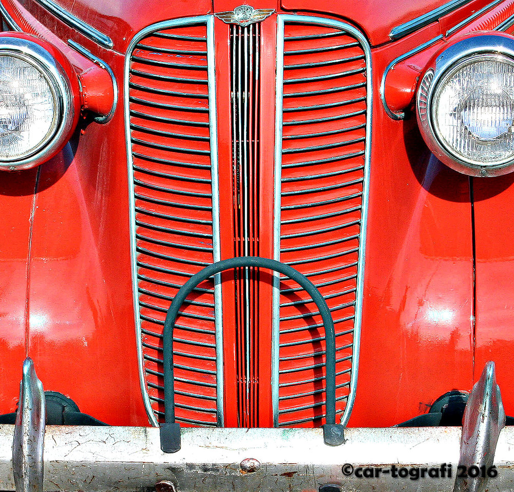 collection grilled in red car-tografi