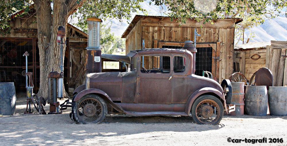 Bishop California car-tografi