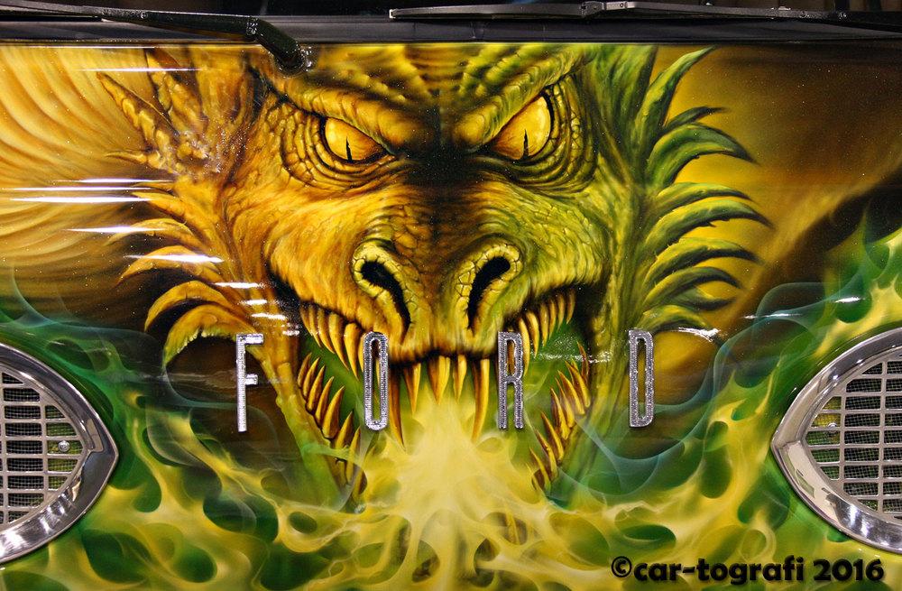 Paint the dragon car-tografi
