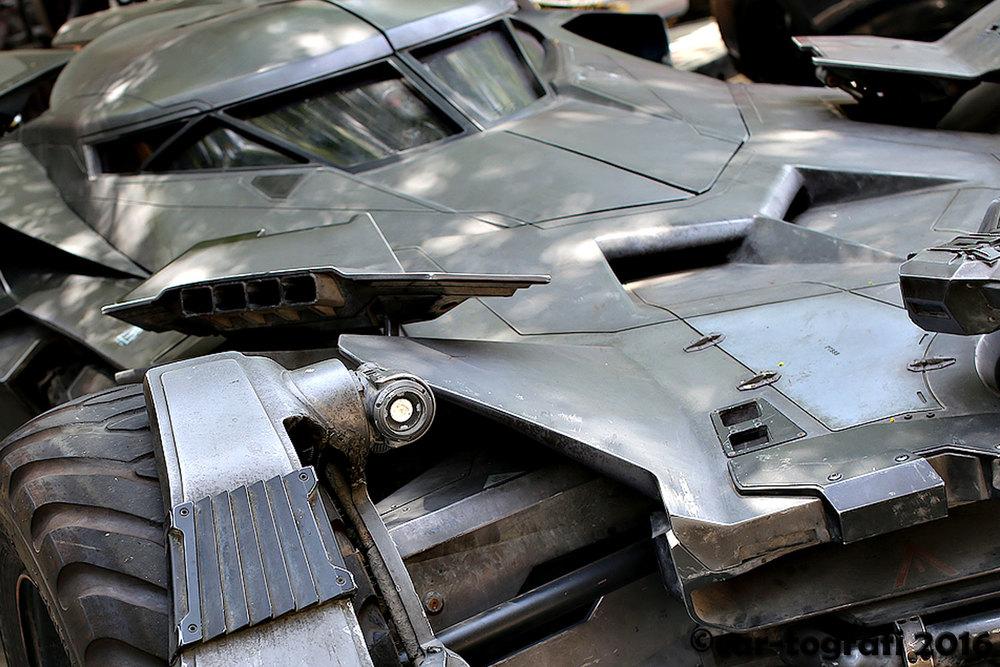 Batmobile Downtown Burbank Classic car-tografi