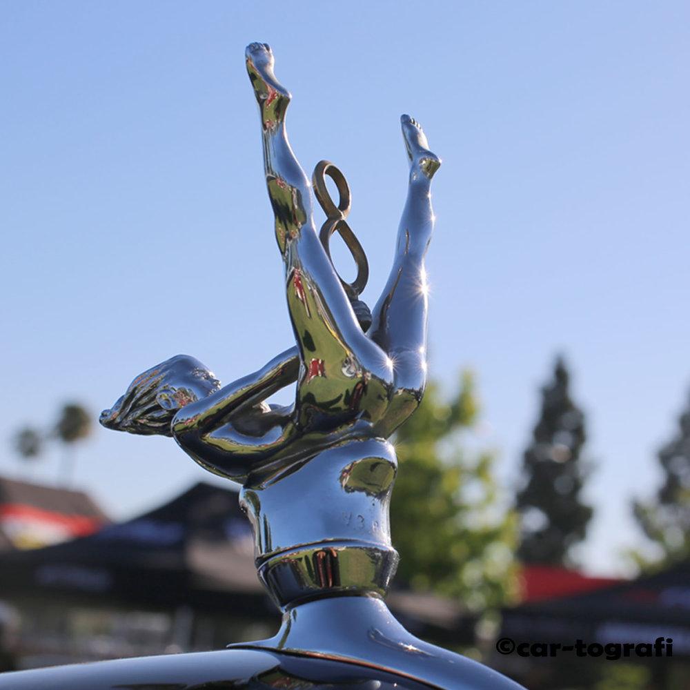 The Risque Goddess 1937 Radiator Cap